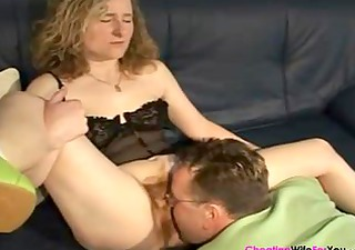 Very hairy mature wife 5