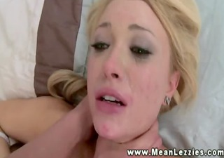 Domanting LEZDOM mature nails her young friend