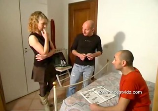 Sharing brother&rsquo_s hot blond wife