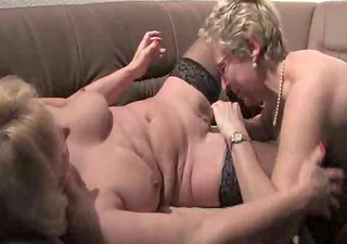 2 Mature Ladies Enjoy Time Together