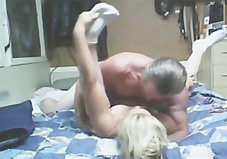 Ripped Hot Daddy fucking milf