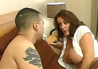 mature slut with large tits receives a bedroom